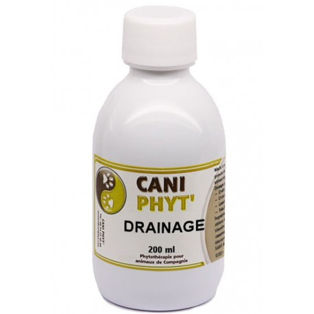 Drainage Caniphyt Chiens Chats